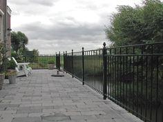 model-bantam-3.Maatwerk sierhekwerk van metaal voor tuin, voortuin en balkon.