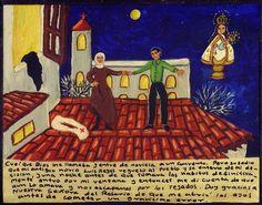 Я посчитала, что услышала зов Божий, и ушла в монастырь послушницей. Но так случилось, что мой друг Луис Рейес вернулся в деревню и узнал о моем решении, и в ночь перед тем, как я должна была принять окончательные монашеские обеты, залез ко мне в окно, и тогда я поняла, что все еще его люблю, и мы убежали по крышам. Благодарю Богоматерь Розария за то, что она открыла мне глаза до того, как я совершила огромную ошибку.
