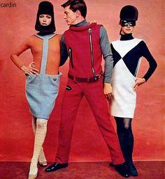 Элементы спортивного стиля в коллекции Пьера Кардена 1960-х