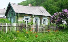 at the dacha painting