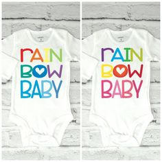Rainbow Baby, Newborn Clothes, Preemie, NICU, Onsie, IVF Baby, New Baby, Newborn Gift, IvF Gift, Onsie, Baby, Preemie, AFter the Storm by Little17Shop on Etsy https://www.etsy.com/listing/484784277/rainbow-baby-newborn-clothes-preemie