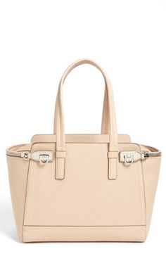 Salvatore Ferragamo 'Verve - Medium' Leather Satchel