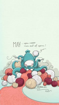 May the Yarn be with you. LKnits.com