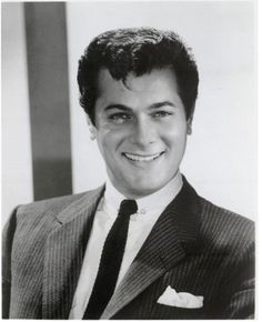 Tony Curtis - beautiful, always with an impishness about him