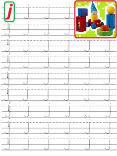 19+J+MIC.gif (768×1024) Letter Writing Worksheets, Preschool Number Worksheets, Alphabet Writing, Numbers Preschool, Handwriting Worksheets, Preschool Learning Activities, Alphabet Worksheets, Learning Letters, Kindergarten Worksheets