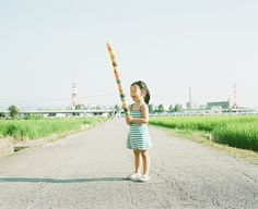 My Daughter Kanna, Japanese Photographer Takes Imaginative & Adorable Photos of His Daughter