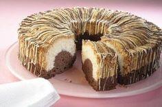 Ein lockerer Rührkuchen mit Kokos und Schokolade