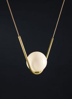 DSHOP | Perle 1 Pendant Light by Larose Guyon https://shop.thedpages.com/collections/chandeliers/products/perle-1-pendant-light