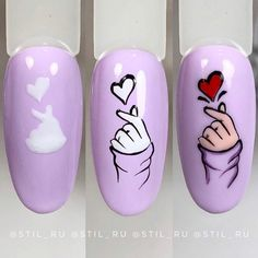 Nails by step Nail Art Designs Videos, Nail Art Videos, Simple Nail Art Designs, Gel Nail Designs, Animal Nail Designs, Nail Art Printer, Mickey Nails, Nail Drawing, Nailart