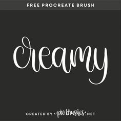 Free procreate brushes and lettering pratice sheets. Create beautiful handlettering, sketching and illustrations with our free brushes. Beautiful Lettering, Ipad Art, Learning To Write, Drawing Tips, Create Font, Art App, Free Brushes, Fun Fonts, Creativity
