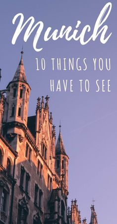 Things to do in Munich Germany - Munich Germany Travel - Best Things to do Munich - Munich Bucket List - Visit Germany - Germany Vacation - Travel to Germany and add these amazing things to do to your Munich itinerary! Cities In Germany, Visit Germany, Munich Germany, Germany Travel, Germany Europe, Visit Munich, Germany Destinations, Travel Destinations, Cool Places To Visit
