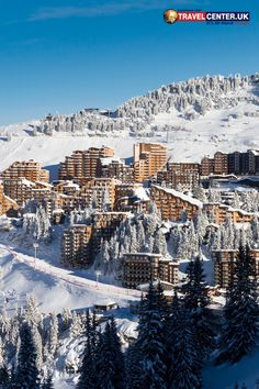 Avoriaz cityscape in France during winter Holidays To Switzerland, Winter Holiday Destinations, Ski Packages, Best Christmas Markets, Travel Center, Cheap Holiday, Ski Season, Ski Holidays, European Destination