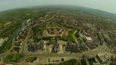 Oradea from above Romania, Paris Skyline, Top, Pictures, Travel, Viajes, Destinations, Traveling, Trips