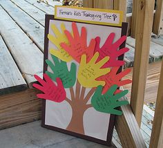 Thanksgiving Tree Craft