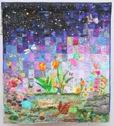 Okay, Vincent van Gogh, you've made the big time! | Quilts ... : fairy tale quilt patterns - Adamdwight.com