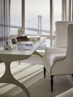 Stunning Home Office & Views | More lusciousness at myLusciousLife.com