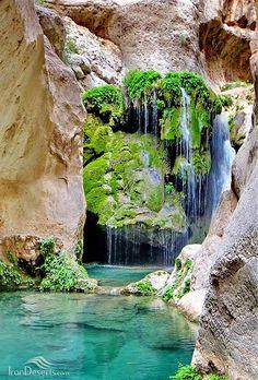 Reghez canyon, Darab, Fars province, Iran (Persian: تنگ رغز، داراب، استان فارس) credit: IranDeserts.com/
