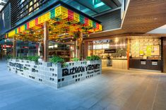 Guzman y Gomez, World Square - Mima Design - Creating Branded Retail + Hospitality Environments