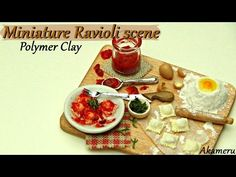 Creating Dollhouse Miniatures: Miniature Ravioli Scene Tutorial