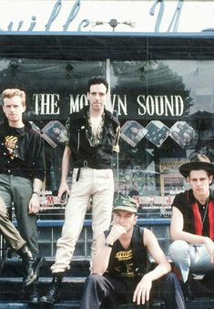 "music-destroyed-my-soul: ""The Clash """