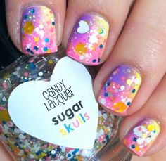 Candy Lacquer - Sugar Skulls  (photo by Lethal Lacquer)