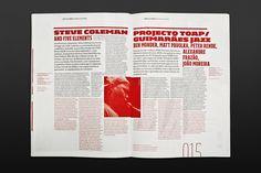 Jazz 2008 Publication on Editorial Design Served