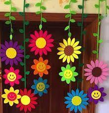 Resultado de imagen para decoracion de aulas de preescolar para primavera