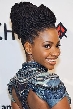 Teyonah Parris The Beauty Of Natural Hair Board