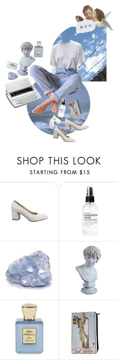 """""""a dove's dream 🕊"""" by serenitas ❤ liked on Polyvore featuring Maryam Nassir Zadeh, Fig+Yarrow, Orlandi Statuary, Guide London, Bella Bellissima and vintage"""