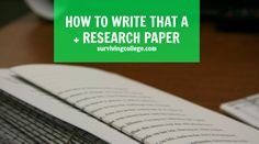 Tired of procrastinating your big research papers but don't know how to get going with them? Here's our (almost) foolproof guide to acing your next paper!