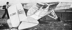 Lanier Vacuplane XL-5 (1932)