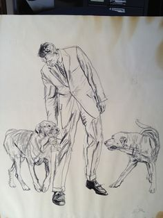 Asad Khan - Austin Briggs, one of three original sketches (I call. Human Figure Sketches, Figure Sketching, Figure Drawing, Drawing Reference, Pose Reference, Drawing Sketches, Pencil Drawings, Art Drawings, Drawing Ideas