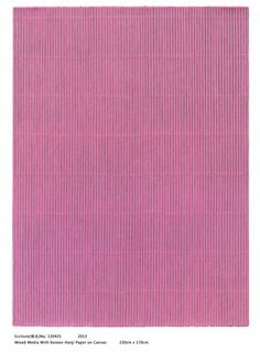 Park Seo-Bo, 'Ecriture No.130426,' 2014, Johyun Gallery