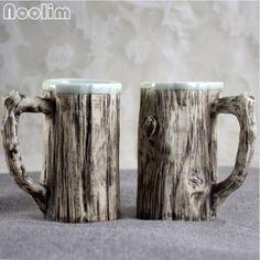 NOOLIM Kreatywny Jingdezhen Ceramiczne filiżanki kawy Sztuczna Kora dla Miłośników w NOOLIM Kreatywny Jingdezhen Ceramiczne filiżanki kawy Sztuczna Kora dla Miłośników od Coffee Cups & Mugs na Aliexpress.com | Grupa Alibaba