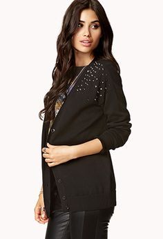 Secret Rebel Cardigan | FOREVER 21 #Foreverholiday