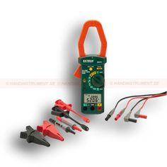 http://handinstrument.se/effektanalysator-r136/stromtang-hvolt-med-sparbart-kalibreringscertifikat-53-380976-K-NIST-r145  Strömtång, HVolt med spårbart kalibreringscertifikat  40mm tångkäft och stor dubbel LCD-display (9999 punkter)  Mäter 1/3-fas sann effekt (kW), skenbar effekt (kVA), reaktiv effekt (kvar), hästkraft (HP), effektfaktor, och fasvinkel med ledning / eftersläpning indikator  AC DC µA Ström med 10nA upplösning för flammstav tester  Auto Detect AC / DC mätningar...