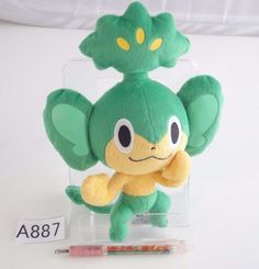 Banpresto pokemon Pansage Vegimak Feuillajou Plush Doll.with the bonus item #Banpresto