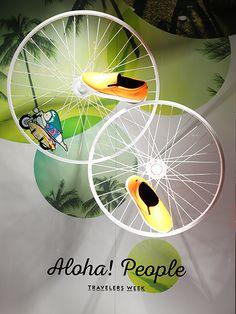 """ISETAN MEN'S,Tokyo,Japan, """"Aloha! People"""", by Mado Design, pinned by Ton van der Veer"""