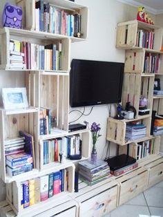 TodaEla - Inspire-se: dicas para usar caixotes de madeira na decoração