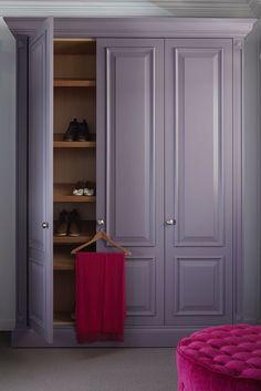 Trendy bedroom wardrobe built in cabinets Ideas Bedroom Built In Wardrobe, Bedroom Closet Doors, Bedroom Closet Design, Wardrobe Design, Closet Designs, Painted Wardrobe, Hallway Closet, Wardrobe Cabinets, Wardrobe Doors