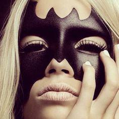   High Fashion Inspired Halloween makeup