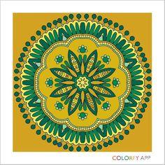 V VB's gold green