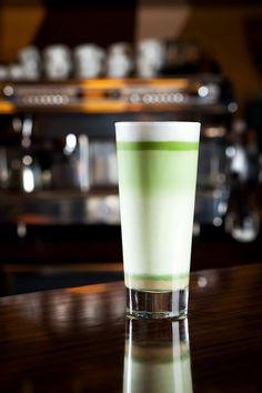 Matcha Baileys Shot from Herbal Tea Direct