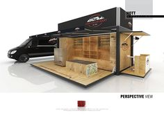 Cape Union Mart - Mobile Store Designs on Behance
