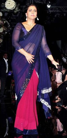 Kajol Devgan Hot Navel Pics Transparent Blue Dark Pink Saree Blouse Images Latest Design at Lakme Fashion Week 2014 Kajol Devgan is most beautiful Actress in Bollywood industry. Recently She was attends at Lakme Fashion Week Winter Festival 2014. She was wearing Blue and Dark Pink Transparent Saree, in which she was looking Lovely. Kajol …
