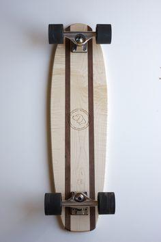 Curly Maple The Explorer Skateboard