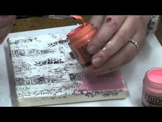 ▶ Mixed Media on Canvas - Part # 2 - YouTube