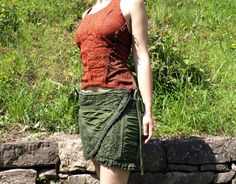 DISCOUNT 30% Skirt crochet, Tribal gypsy clothing, Wraparound lace skirt, Mini skirt layers, Fairy dance clothes.