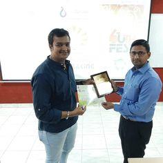 Bhautik Sheth was invited to judge Ad Making competition in Uth Fest at Uka Tarsadia University -Maliba Campus, Bardoli. Digital Marketing Services, Social Media Marketing, Competition, Workshop, University, Ads, Atelier, Work Shop Garage, Community College