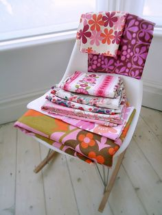 modflowers: fabric collection - pinks